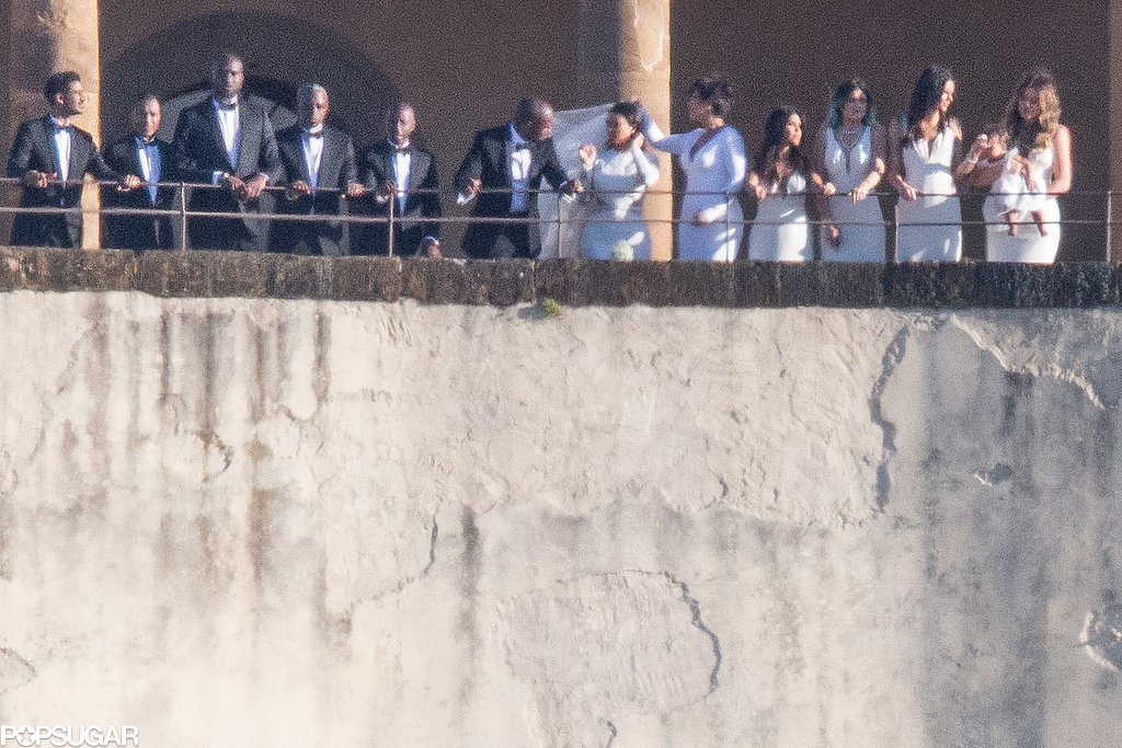 See More Stunning Photos From Kim and Kanye's Wedding!
