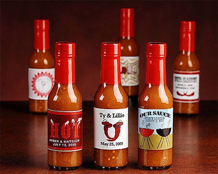 Hot Sauce Favors