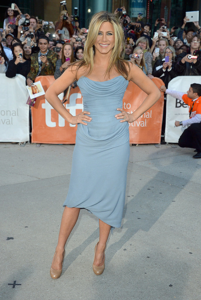 Jennifer Aniston at 45