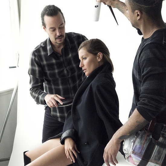 Gisele Bundchen Modelling For Stuart Weitzman Fall Campaign