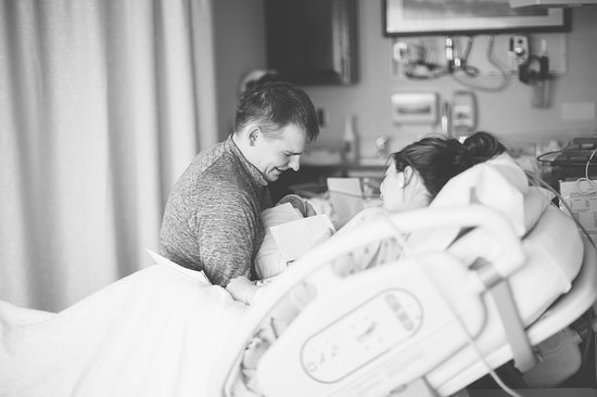 Take a Photographic Journey Through Baby Parker's Sweet Birth Story With a Hip-Hop Twist