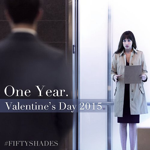 Dakota Johnson as Anastasia Steele.