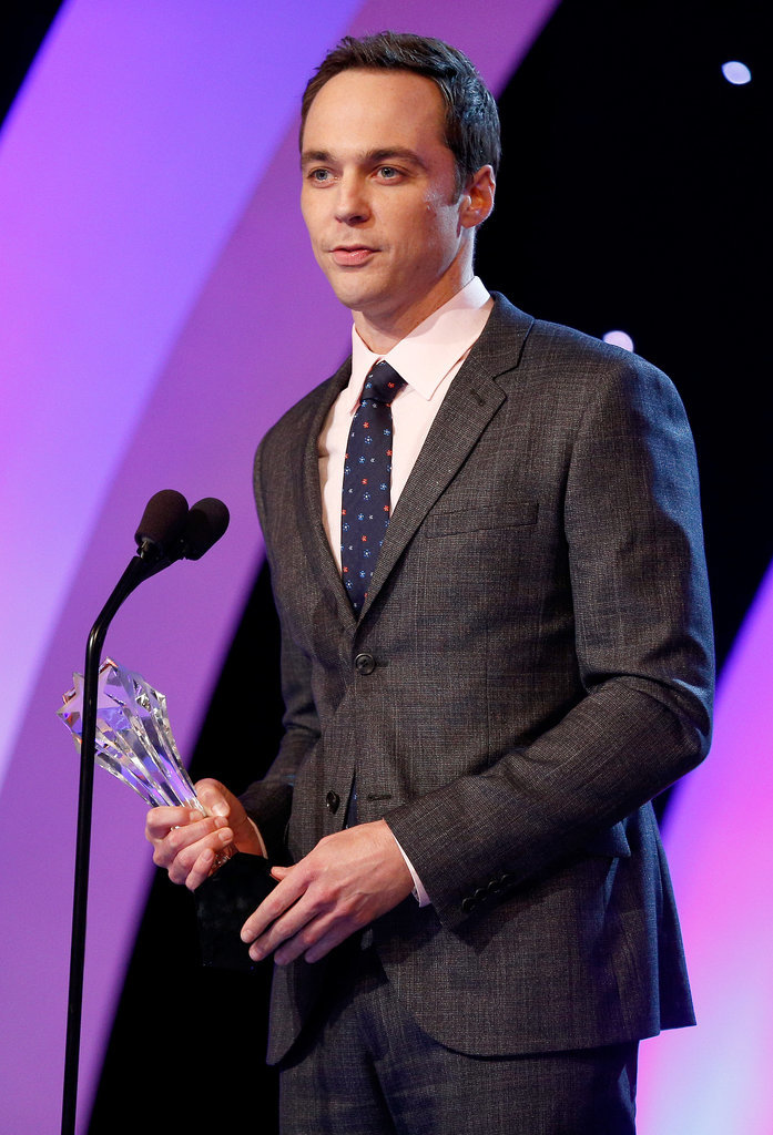 Jim Parsons won best actor in a comedy series.