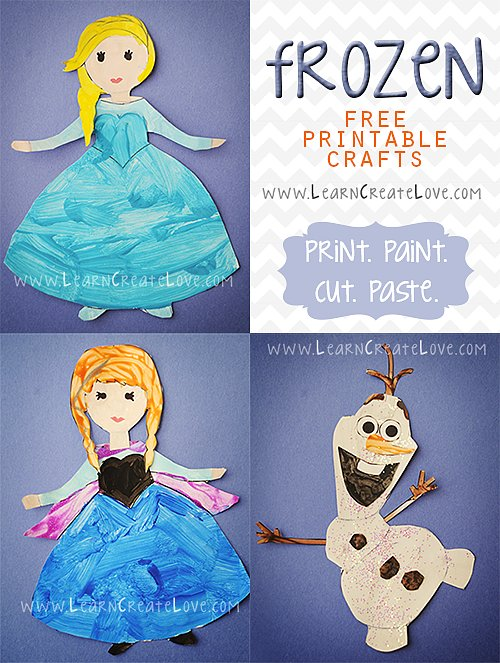Printable Frozen Pals