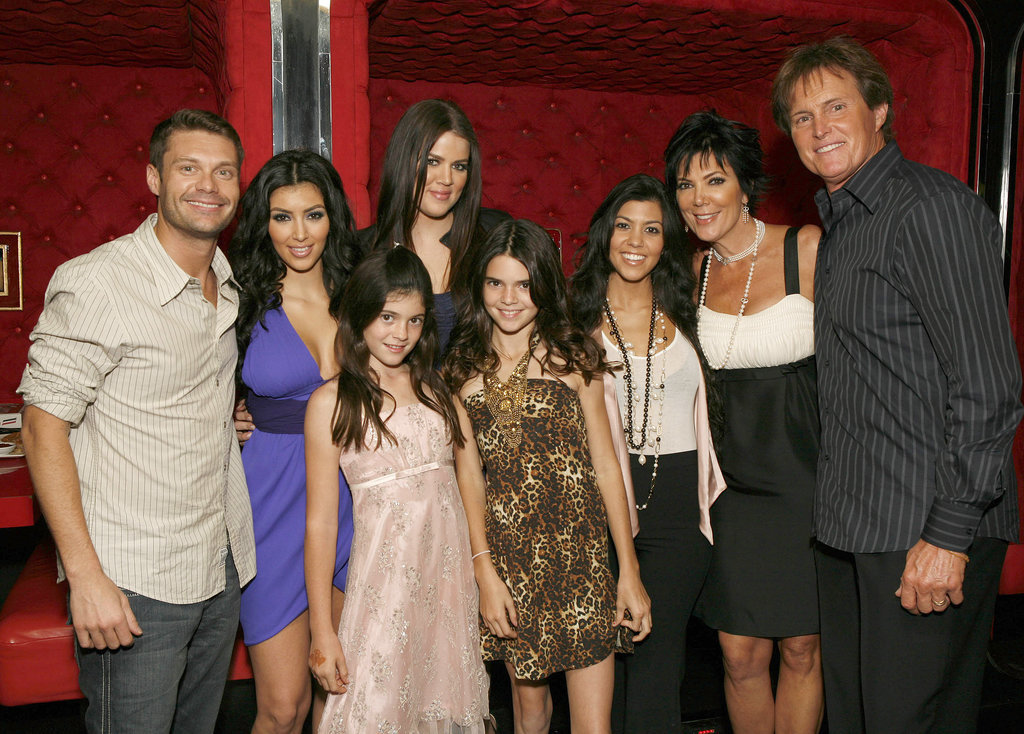 But they didn't really step out until Keeping Up With the Kardashians premiered in 2007.