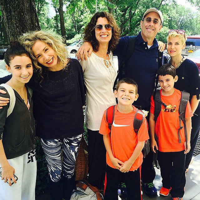 The Seinfelds jetted off to Greece for a family vacation. Source: Instagram user jessseinfeld