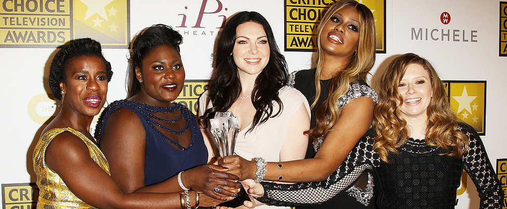 Watch Laverne Cox Get Emotional on the Critics' Choice Red Carpet!
