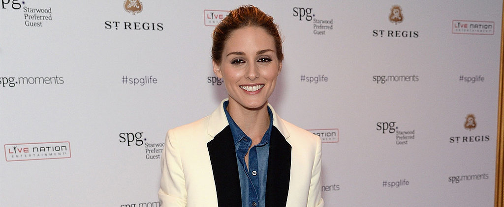 "Olivia Palermo Wears a ""Canadian Tuxedo"" Tuxedo — and It Totally Works"