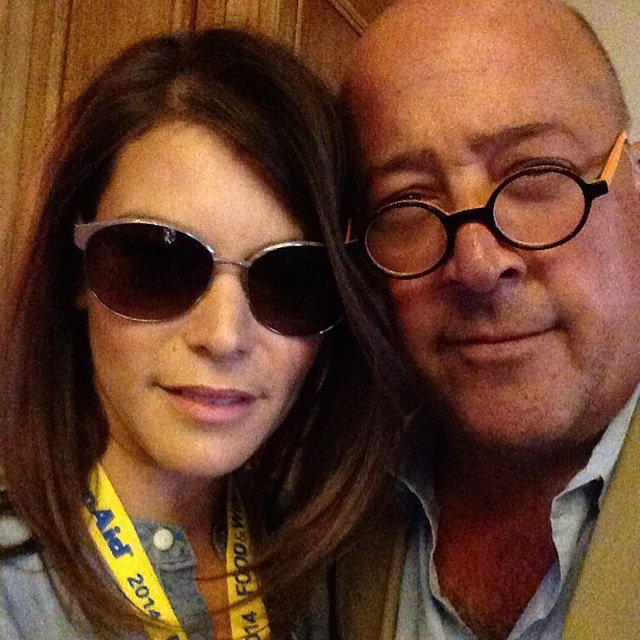 Gail Simmons and Andrew Zimmern Talked About 2015