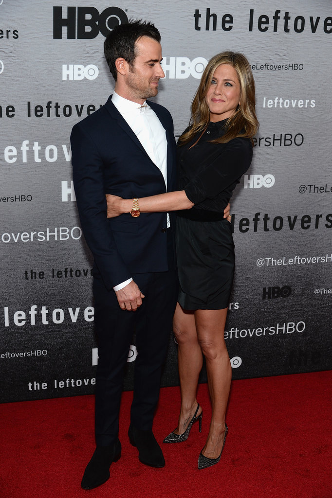 Jennifer Aniston and Justin Theroux Return to the Red Carpet!