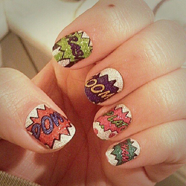 The Geekiest (and Easiest) of Nail Art to Decorate Your Digits