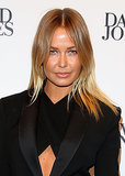 At David Jones' Spring/Summer 2013 fashion launch, Lara opted for a centre part and simple nude lip.