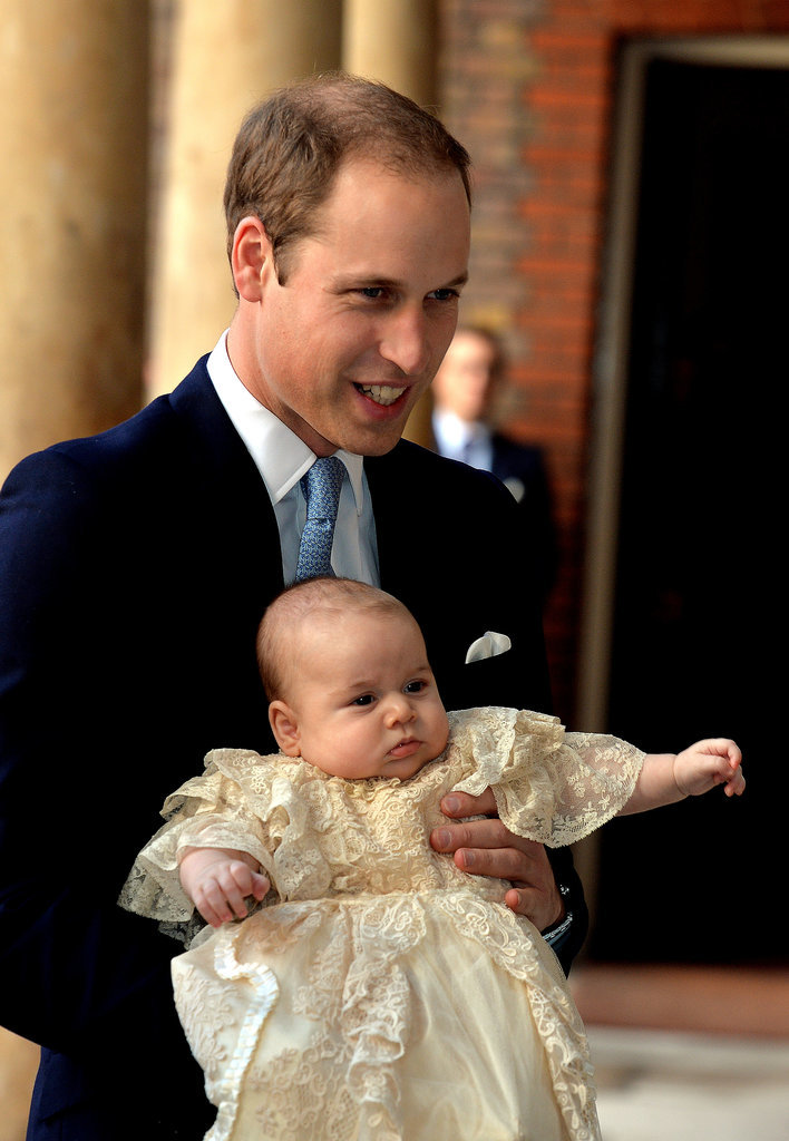 When He Wore the Traditional Christening Gown