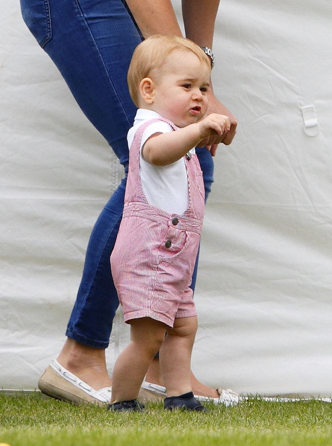 Prince George's First Assisted Steps