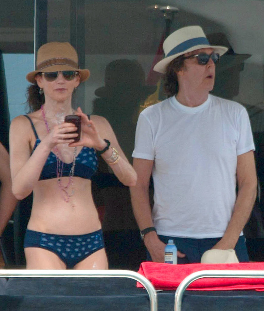 "Paul McCartney Is ""Ready to Rock"" — and Go Shirtless"
