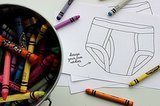 Color Your Own Undies!