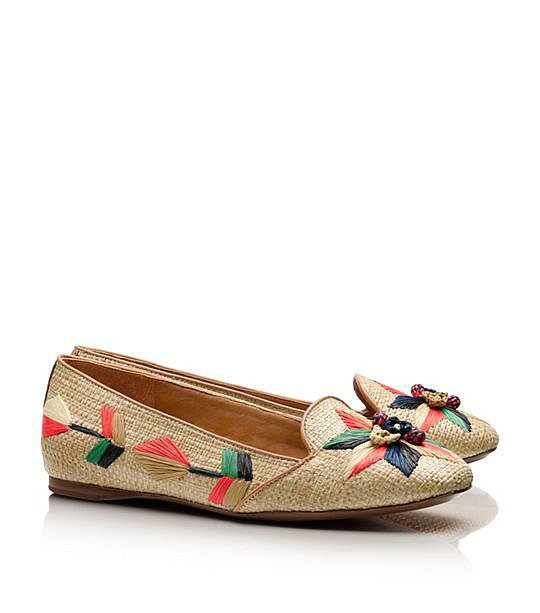 Tory Burch Smoking Slipper