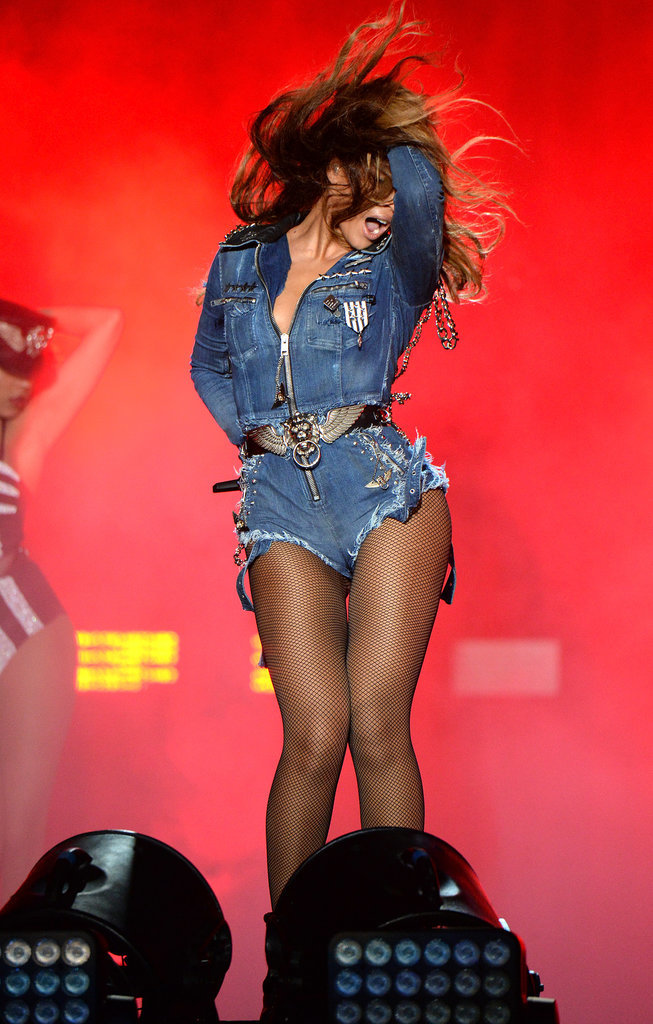 Beyoncé Kicks Off the On the Run Tour With Her Best Hair Flip Yet