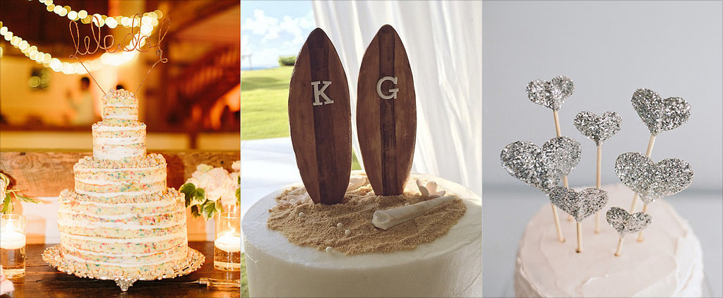 10 Cool Wedding Cake Toppers to Take Yours to the Next Level