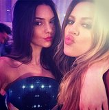 Khloe Kardashian 30th Birthday Party: Kim And Kendall Jenner