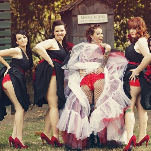 Bridesmaids Butt Trend