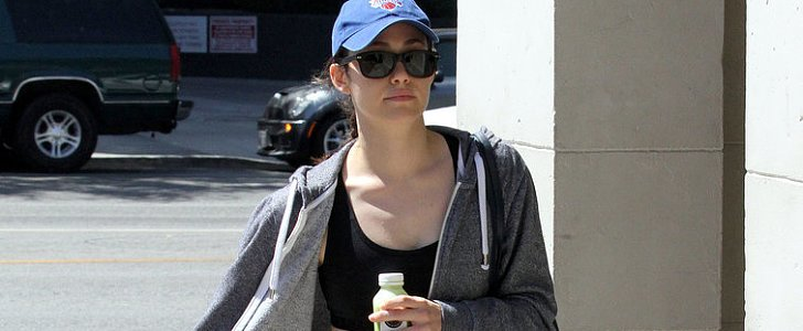 Celebs Hit the Gym in the Summer Heat