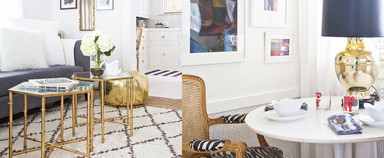 This Home Is the Perfect Example of Metallics Done Right