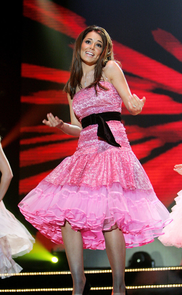 At the T4 Polls Winners Party in 2005, Cheryl was sweet as pie in a '50s-style prom dress. Remember the Biology video?