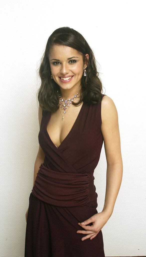 In 2002, Cheryl Tweedy was picked to become a member of Girls Aloud through the TV show Popstars: The Rivals. This was her first official publicity photo as a member of the band.