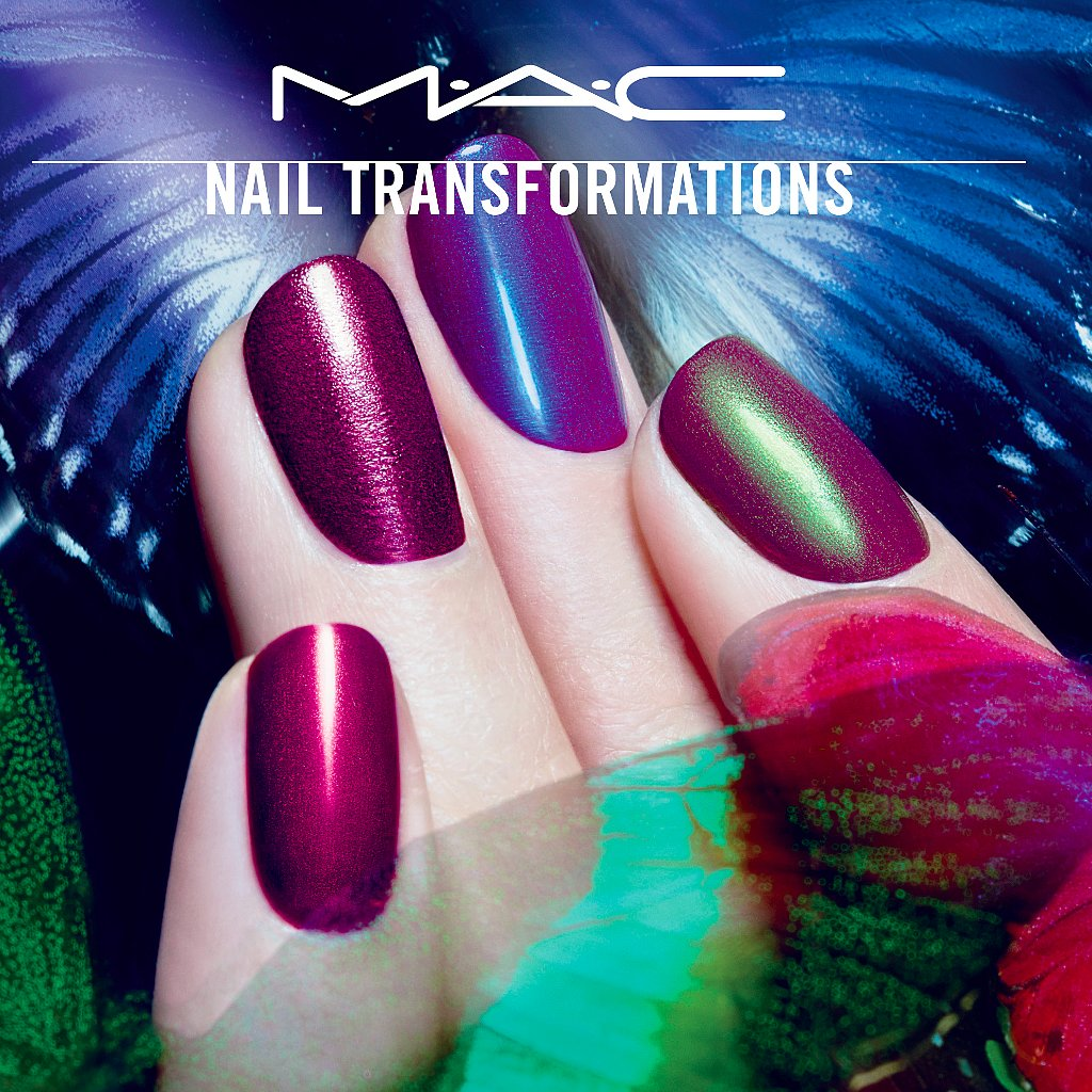 MAC and Marian Newman Nail Transformations Collaboration