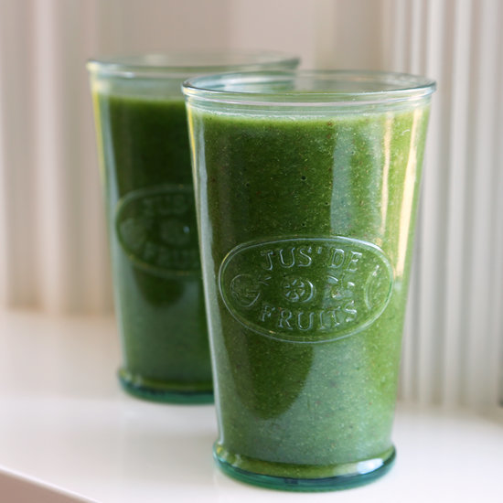 A Sweet Green Smoothie That's Packed With Nutrition