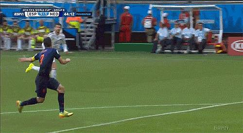 That Amazing Goal by Robin van Persie (aka the Flying Dutchman)