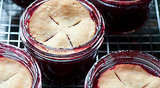 Mini Cranberry Cobblers