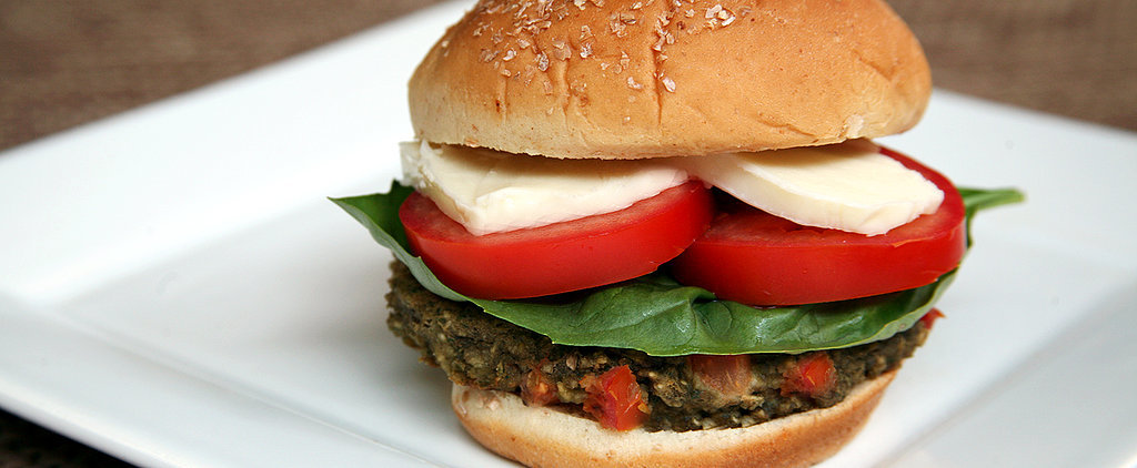 Celebrate the Fourth! Red, White, and Green Caprese Veggie Burger