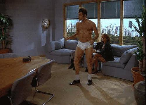 When Kramer Dances in His Underwear