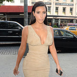 Kim Kardashian in Nude Dresses | Video