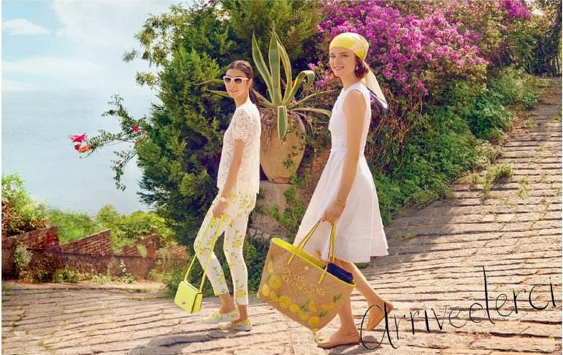 Kate Spade Spring Summer 2014 Accessories Accessory Campaign