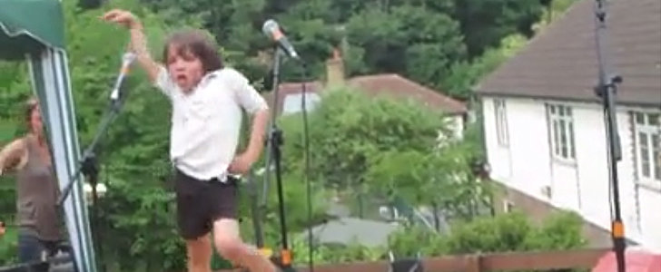 Little Boy Outdances Lady Gaga at School Recital