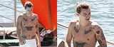 Harry Styles Channels His Inner Leonardo DiCaprio in Italy