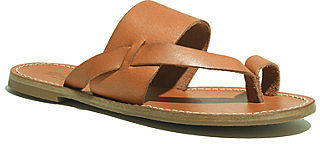 Madewell Leather Slide Sandals