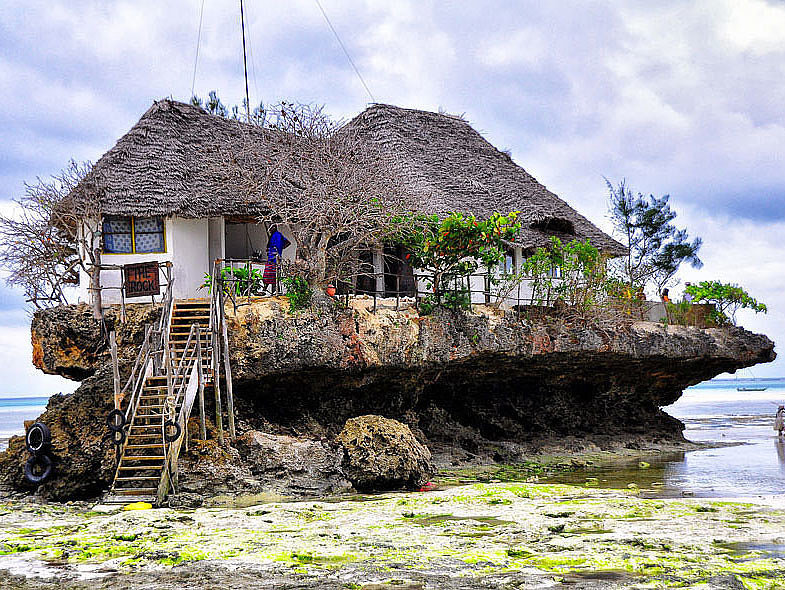 The Rock Restaurant, Zanzibar