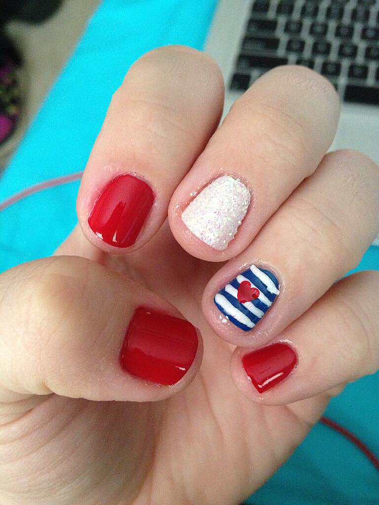 Stripes and Hearts