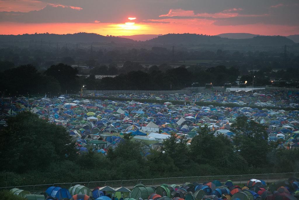 Crowded Camp