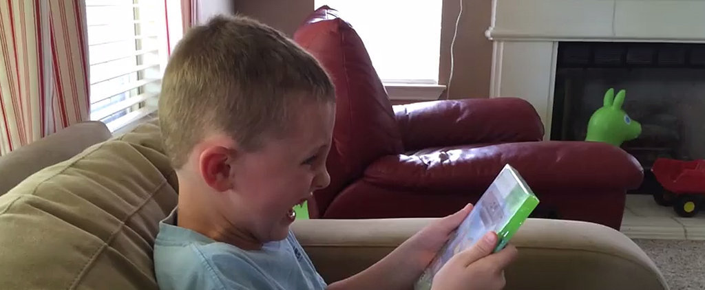 Kid Loses His Mind Over Minecraft