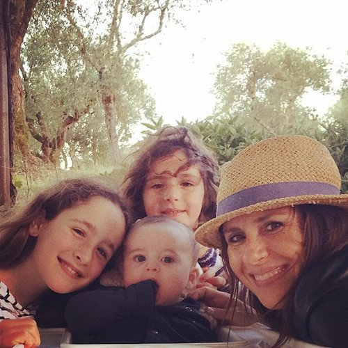 Soleil Moon Frye took her brood to Sienna, Italy, for Summer vacation. Source: Instagram user moonfrye