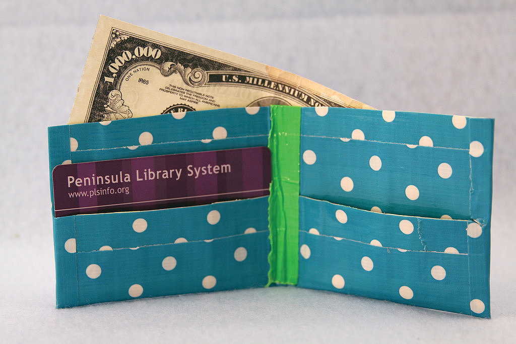 CREATE: Forget fixing things, use duct tape to craft a wallet or a bow tie!