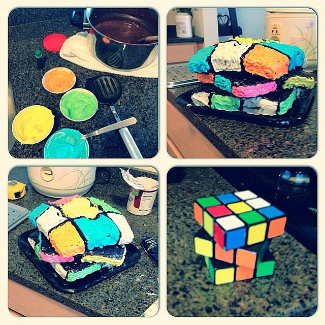 Someone Still Hasn't Solved the Ol' Rubik's Cube