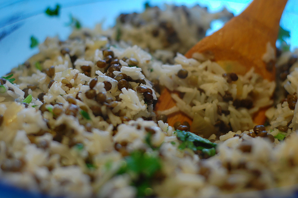 Egyptian Lentils and Rice