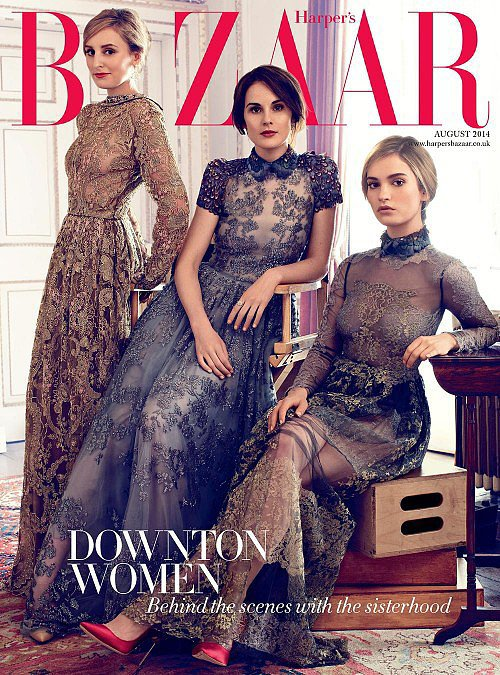 Harper's Bazaar August 2014