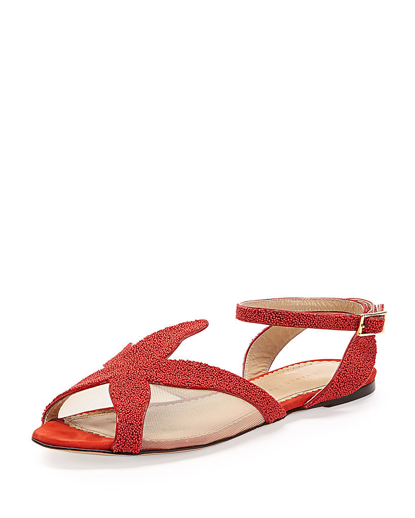 Charlotte Olympia Beaded Starfish Sandal ($312, originally $695)